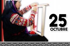 afiche telar mapuche